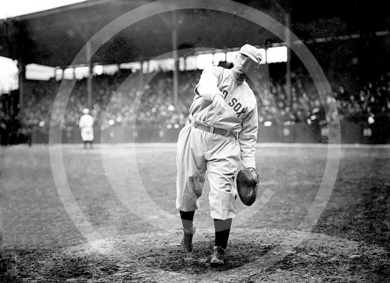 Bill Carrigan, Boston Red Sox AL, 1913.