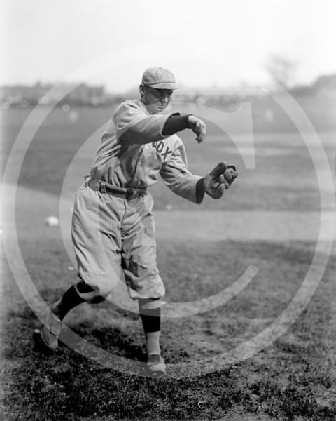 Duffy Lewis, Boston Red Sox AL,  1913.