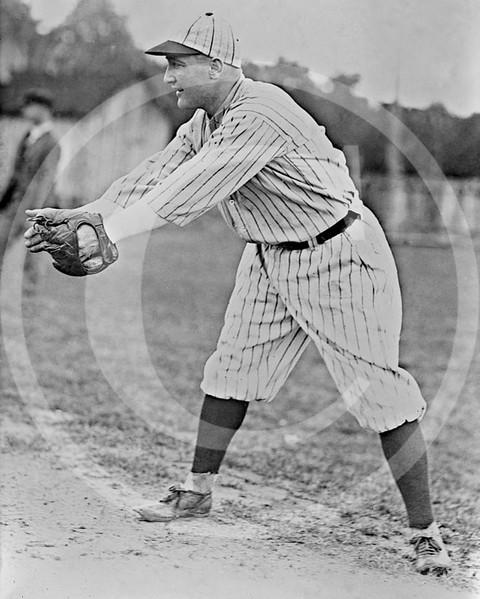 Fred Haney, Detroit Tigers AL, shown in unidentified uniform, 1922.