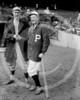 Ernie Shore, Boston Red Sox AL & Grover Cleveland Alexander, Philadelphia Phillies NL, 1915 World Series.