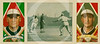 "Charles Evard ""Gabby"" Street - Walter Johnson, Washington Senators AL ( Minnesota Twins ) and Charles Evard ""Gabby"" Street, New York Highlanders AL ( New York Yankees ), American Tobacco Company, 1912."