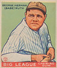 Babe Ruth, Big League Chewing Gum 1933 Goudey Gum Co.