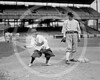 Female baseball player Dot Meloy & Nick Altrock, Washington Senators AL, 10 June  1920.