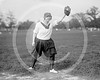 Female baseball player, H. Kazenarek, 1918.