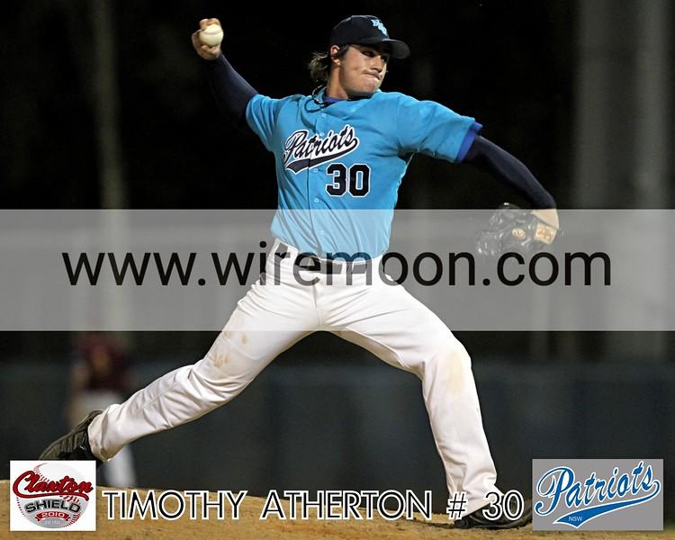 TIMOTHY ATHERTON # 1