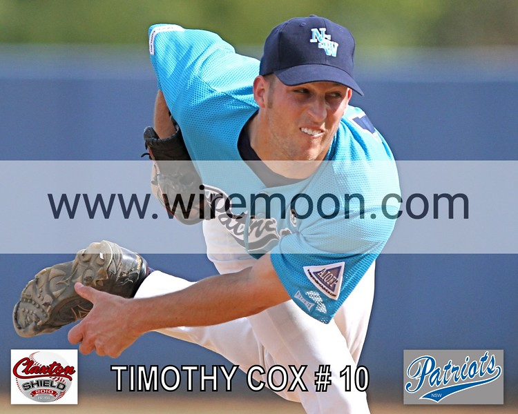 TIMOTHY COX # 1