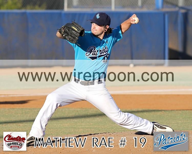 MATTHEW RAE # 1