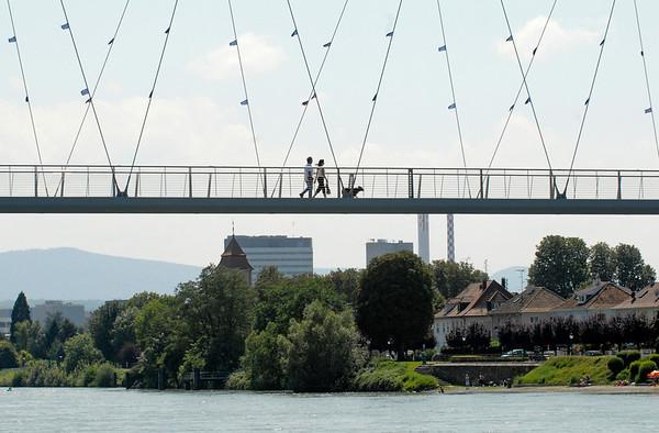 Dreiländerbrücke - Rechts