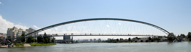 Dreiländerbrücke - Ganze Brücke