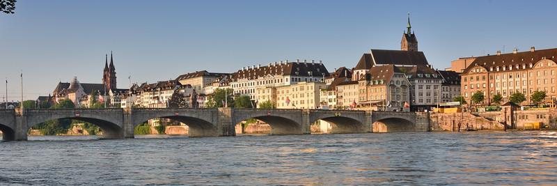 Mittlere Brücke in Basel