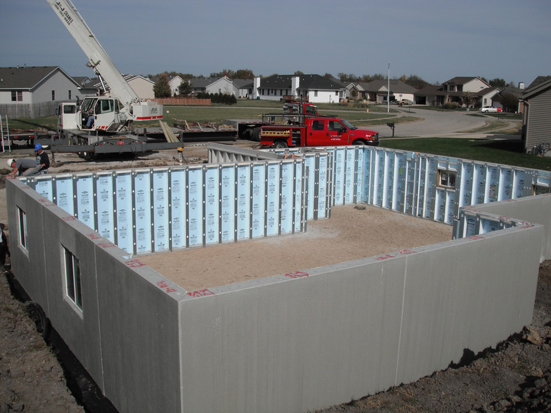 NEW BASEMENT FOR LOCAL CONTRACTOR SET IN NOVEMBER 2010