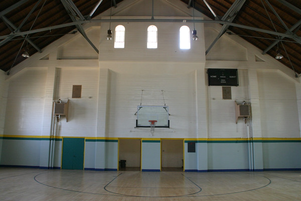 BASKETBALL COURTS-INDOOR