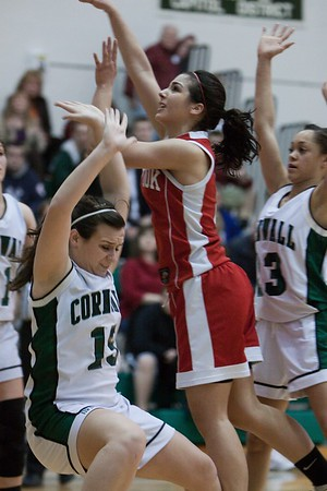 CCHS Girls vs Red Hook (3.2.11)