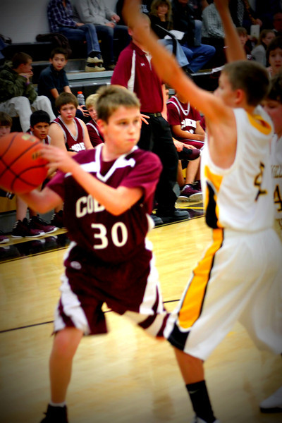 Cobden Jr High Basketball 2012-2013