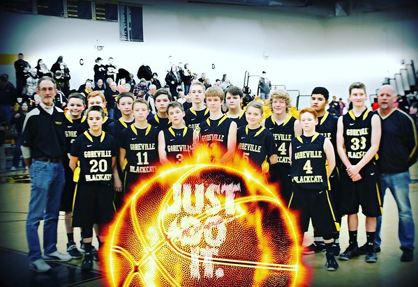 GOREVILLE JR HIGH BOYS BASKETBALL 2016-2017