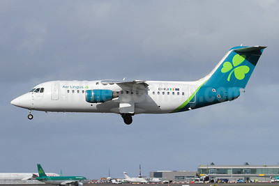 """St. Modwena"", first CityJet RJ85 in new livery"