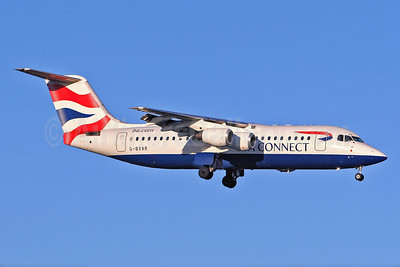 BA Connect (BA CityFlyer) BAe RJ100 (146-RJ100) G-BXAR (msn E3298) STN (Keith Burton). Image: 900049.