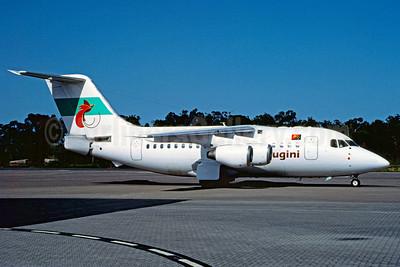 Air Niugini (National Jet Express) BAe RJ70 VH-NJW (msn E1223) BNE (Christian Volpati Collection). Image: 922102.