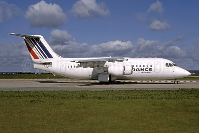 Air France by Air Jet BAe 146-200 F-GMMP (msn E2176) ORY (Franck Bouniol - Bruce Drum Collection). Image: 950735.