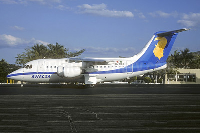 AVIACSA BAe 146-100 XA-RST (msn E1015) (Christian Volpati Collection). Image: 942863.
