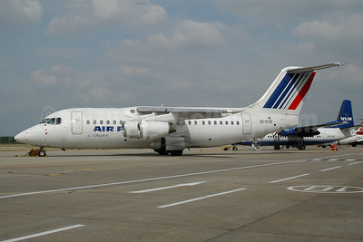 Air France by CityJet  BAe 146-200 EI-CZO (msn E2024) LCY (Ton Jochems). Image: 954089.
