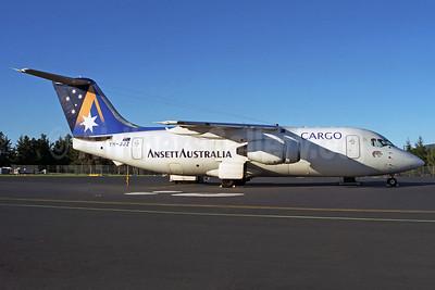 Ansett Australia Cargo (Ansett Air Freight) BAe 146-200QT VH-JJZ (msn E2114) HBA (Rob Finlayson). Image: 932625.