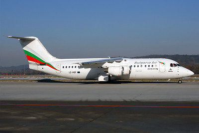 Bulgaria Air BAe 146-300 LZ-HBF (msn E3159) ZRH (Rolf Wallner). Image: 905908.
