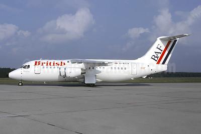 British Air Ferries-BAF Bae 146-200 G-BTIA (msn E2148) NUE (Christian Volpati Collection). Image: 942888.
