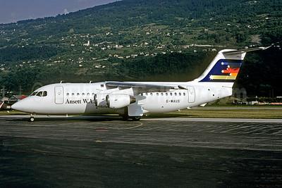 Ansett W.A. BAe 146-200 G-WAUS (msn E2008) LBG (Christian Volpati). Image: 946171.