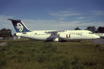 Air New Zealand-Mount Cook Airline BAe 146-300 ZK-NZI (msn E3143) CHC (Frikkie Bekker - Bruce Drum Collection). Image: 954786.