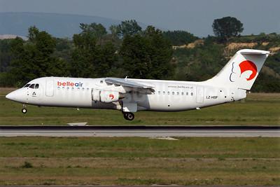 Belle Air (Albania) (Hemus Air) BAe 146-300 LZ-HBF (msn E3146) VIE (Yannick Delamarre). Image: 901890.
