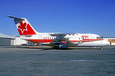 Air BC BAe 146-100 C-GNVX (msn E1010) YVR (Gary Vincent - Christian Volpati Collection). Image: 952205.