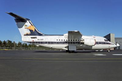 Airfast Indonesia BAe 146-100 PK-OSP (msn E1124) (Eagle) HBA (Rob Finlayson). Image: 951319.