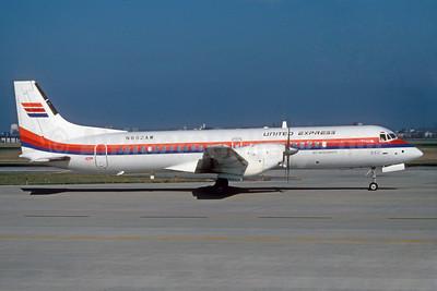 United Express-Air Wisconsin BAe ATP N852AW (msn 2021) ORD (Ron Kluk). Image: 932134.
