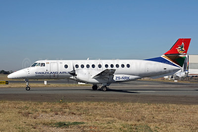 Swaziland Airlink BAe Jetstream 41 ZS-NRK (msn 41065) (Airlink colors) JNB (Christian Volpati). Image: 920734.