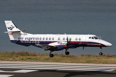 Sky Express (Greece) BAe Jetstream 41 SX-DIA (msn 41075) CFU (Antony J. Best). Image: 930127.