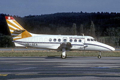 Air Engiadina BAe Jetstream 31 HB-AEA (msn 612) ZRH (Jay Selman). Image: 402528.