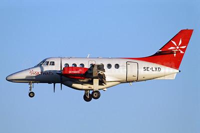 Skyways Express (Sweden) - Direktflyg BAe Jetstream 31 SE-LXD (msn 977) ARN (Stefan Sjogren). Image: 925244.