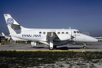 Pan Am Express BAe Jetstream 31 N3108 (msn 824) MIA (Bruce Drum). Image: 103313.