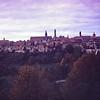 """""""Rothenburg skyline"""" Germany 1968"""