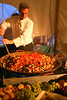 """Chef Barry Waldop of True Charleston Cuisine thrilled guests with his famous """"Lowcountry Paella"""".  I have served this at numerous corporate and social events."""