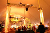This 80 x 150 tent accomodated 800 guests that evening with 13 food stations.