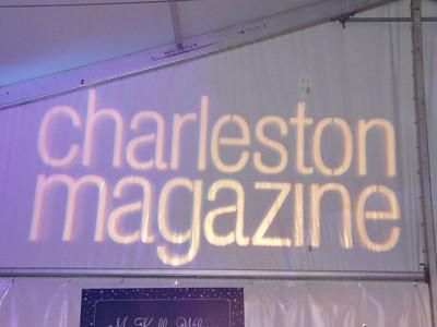 Our sponsor!  Charleston Magazine.