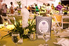 To add a little taste of the lowcountry to the event, Denise and Mitchell found these white porcelain herons and utilized them in some of the centerpieces.