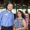 Brian Bennett and Hema Patel.