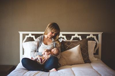 Baby with Mama (& Breastfeeding)