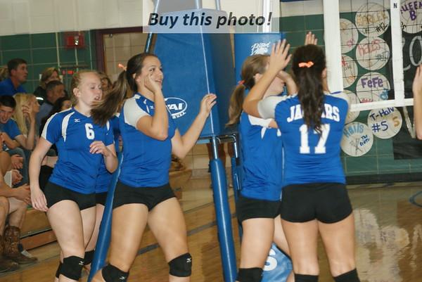 B-B-E vs. Holdingford volleyball