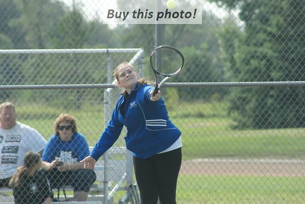 BBE Jaguars tennis vs. Sauk Centre