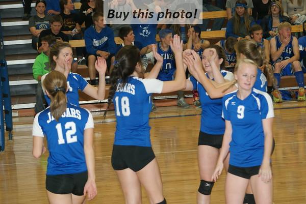 BBE Jaguars volleyball vs. Kimball