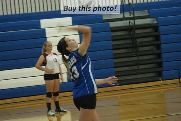 B-B-E Junior High volleyball Jaguars